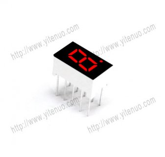 ELS-3104BS 0.3 inch 1 digit Common Anode Red digital tube