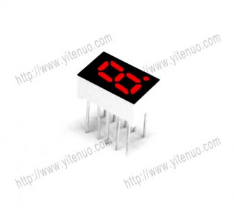 ELS-3121BS 0.32 inch 1 digit Common Anode Red digital tube