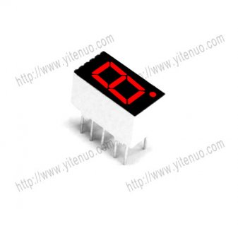 ELS-3161BS 0.36 inch 1 digit Common Anode Red digital tube