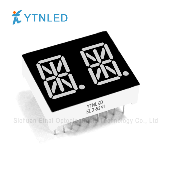 0.54inch Dual digit led display Common Cathode Anode Red Oran