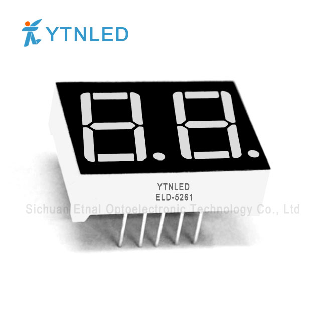 0.56inch Dual digit led display Common Cathode Anode Red Oran