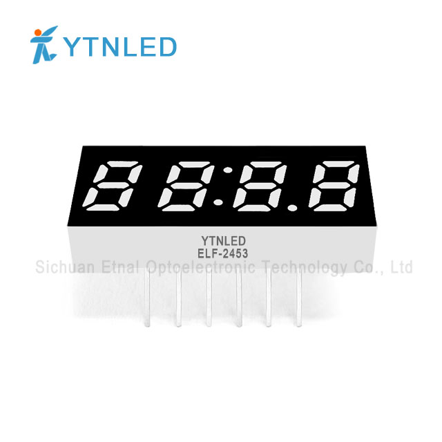 0.25inch Four digit led display Common Cathode Anode Red Oran
