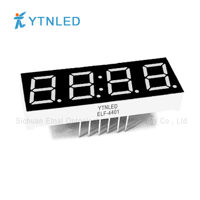 0.4inch Four digit led display Common Cathode Anode Red Orang