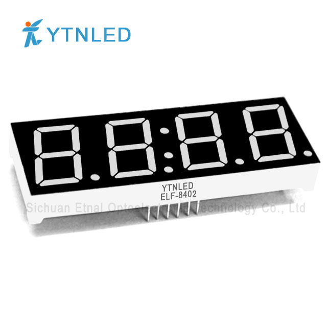 0.8inch Four digit led display Common Cathode Anode Red Orang