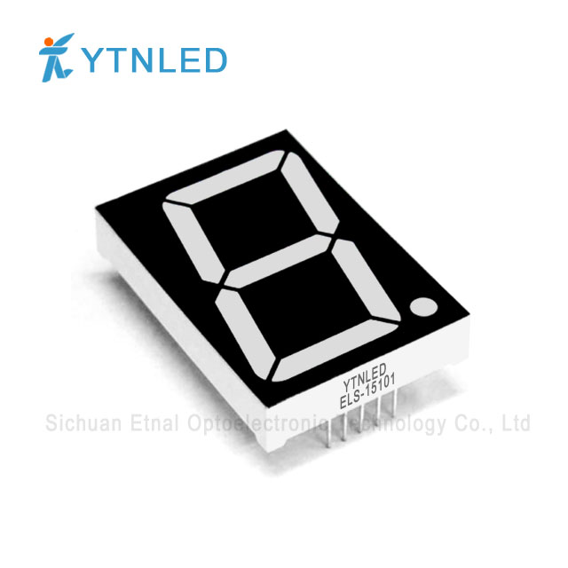 1.5inch Single digit led display Common Cathode Anode Red Ora