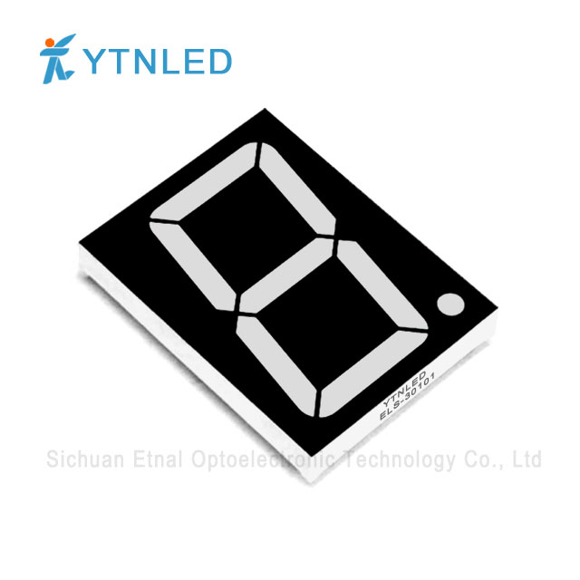 3inch Single digit led display Common Cathode Anode Red Orang