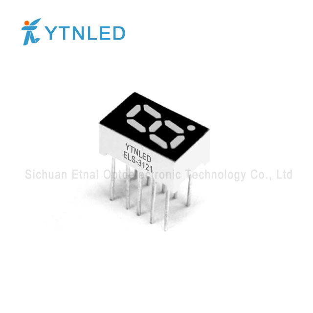 0.32inch Single digit led display Common Cathode Anode Red Or